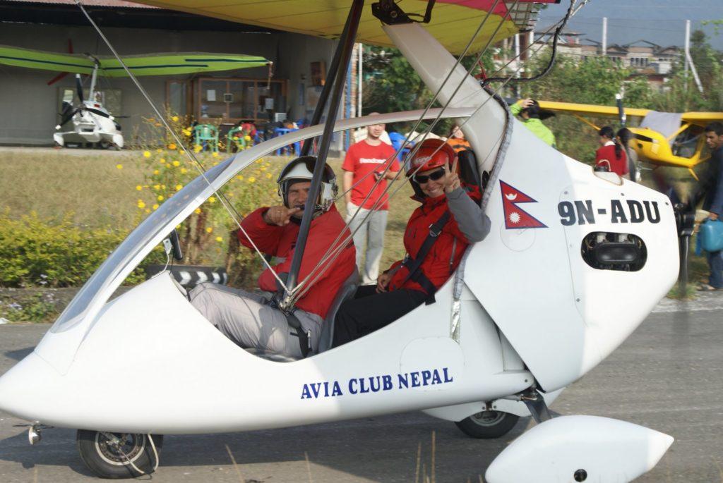 Коммерческие полеты с авиа клубом Непал