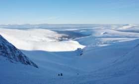 Лыжный туризм в Хибинах