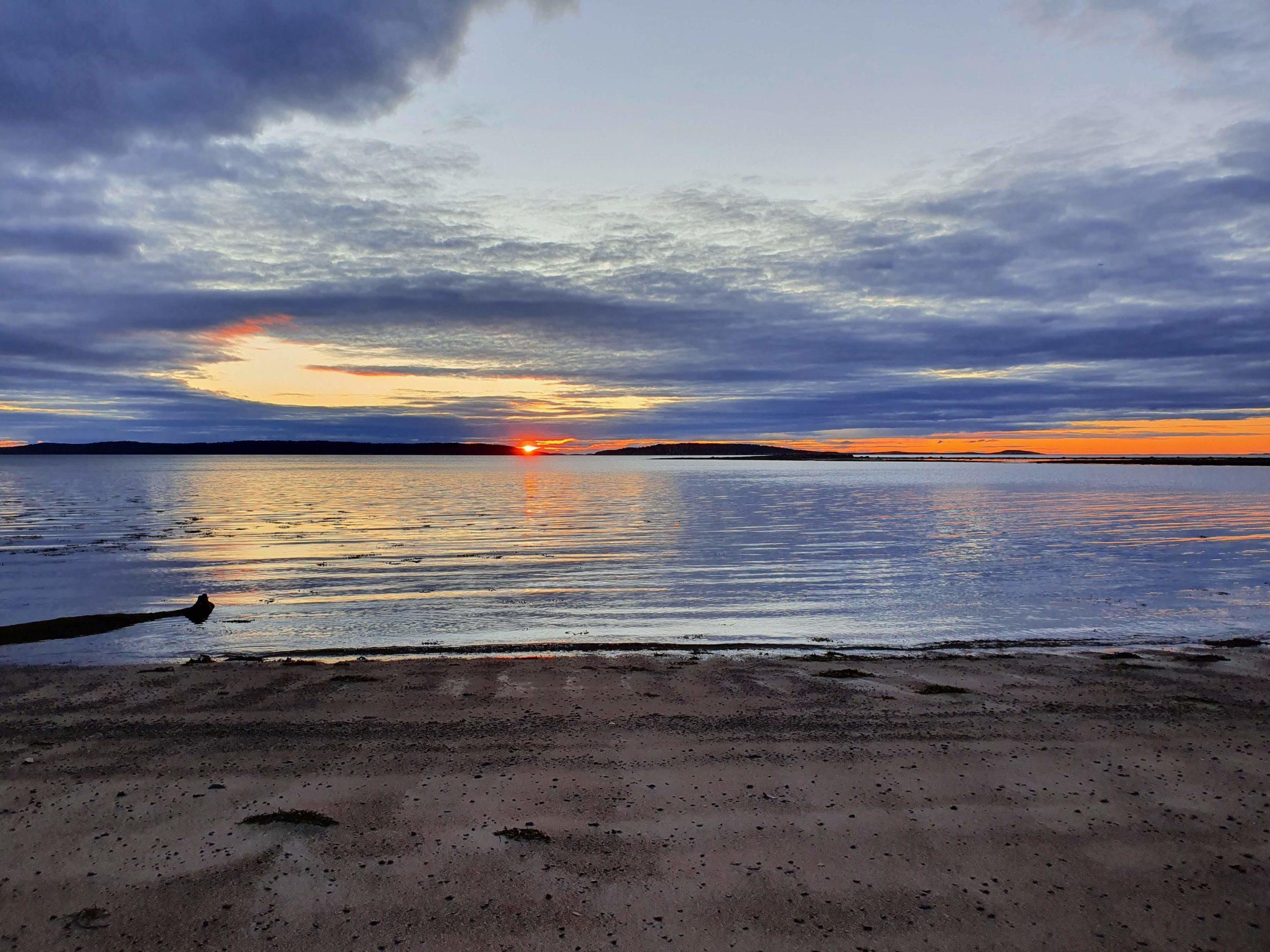 Полночь в июле на Белом Море