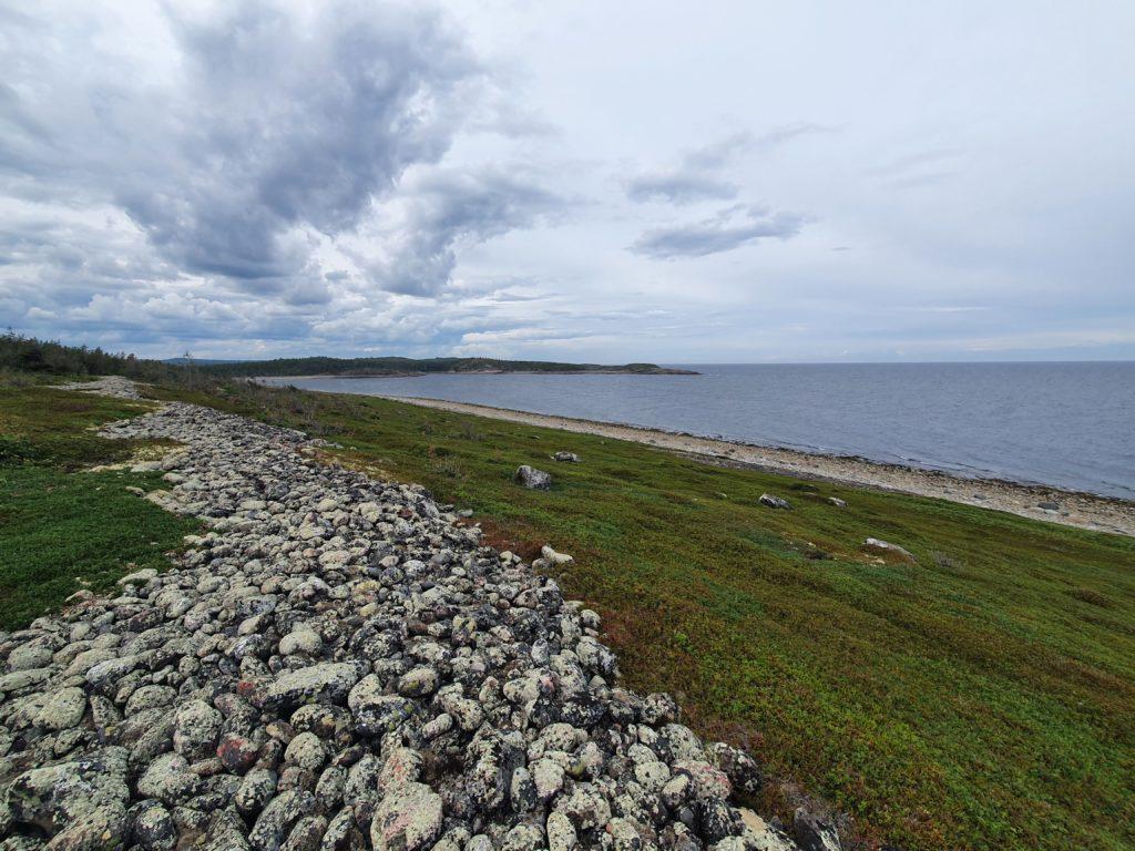 Классический пейзаж в плохую погоду южного края Сонострова